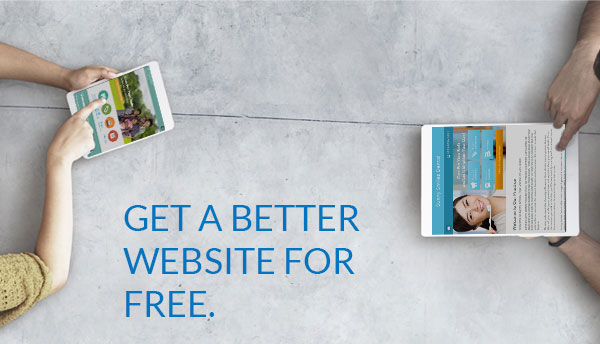 Get a Better Website for Free.